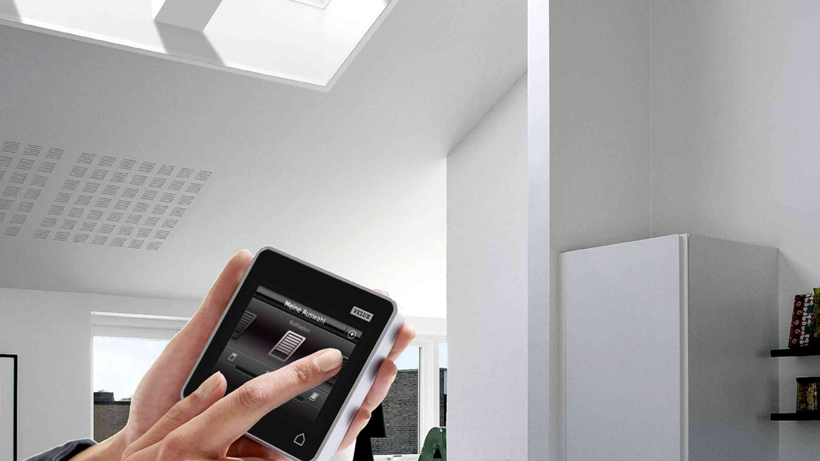 Velux Bedienung Smart Home