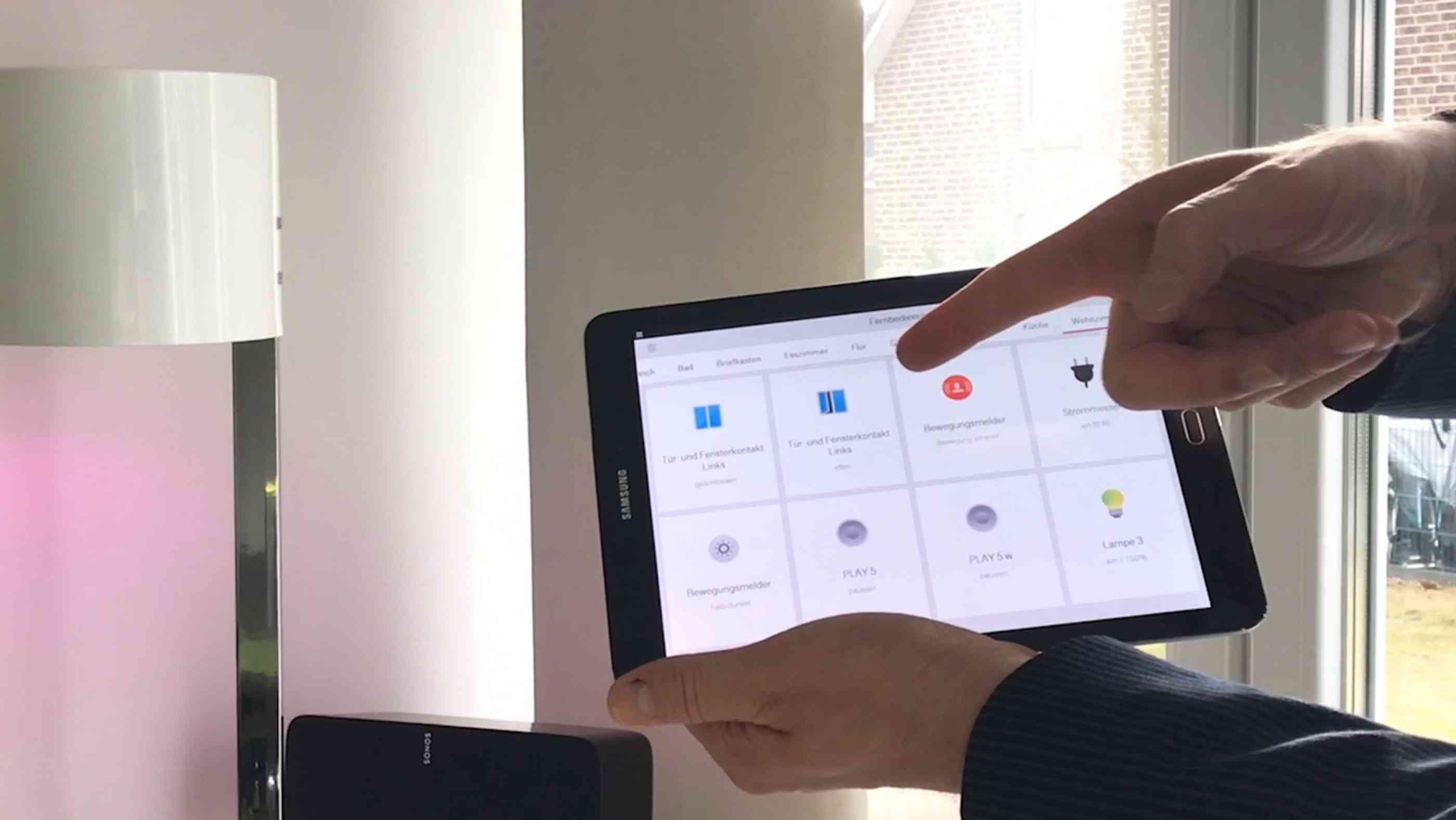 Tabletbedienung Smart Home