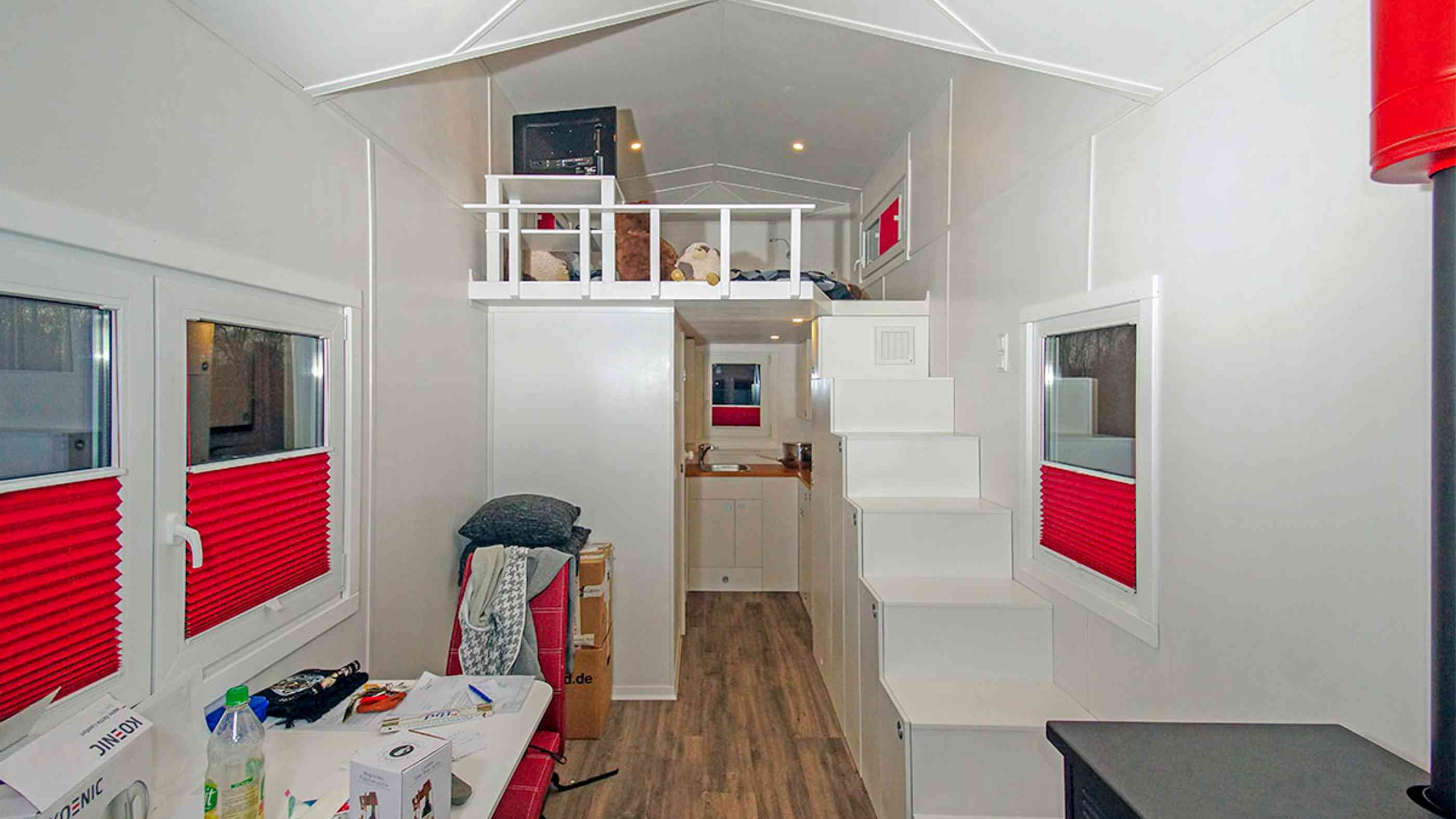 Inneneinrichtung des Rolling Tiny House