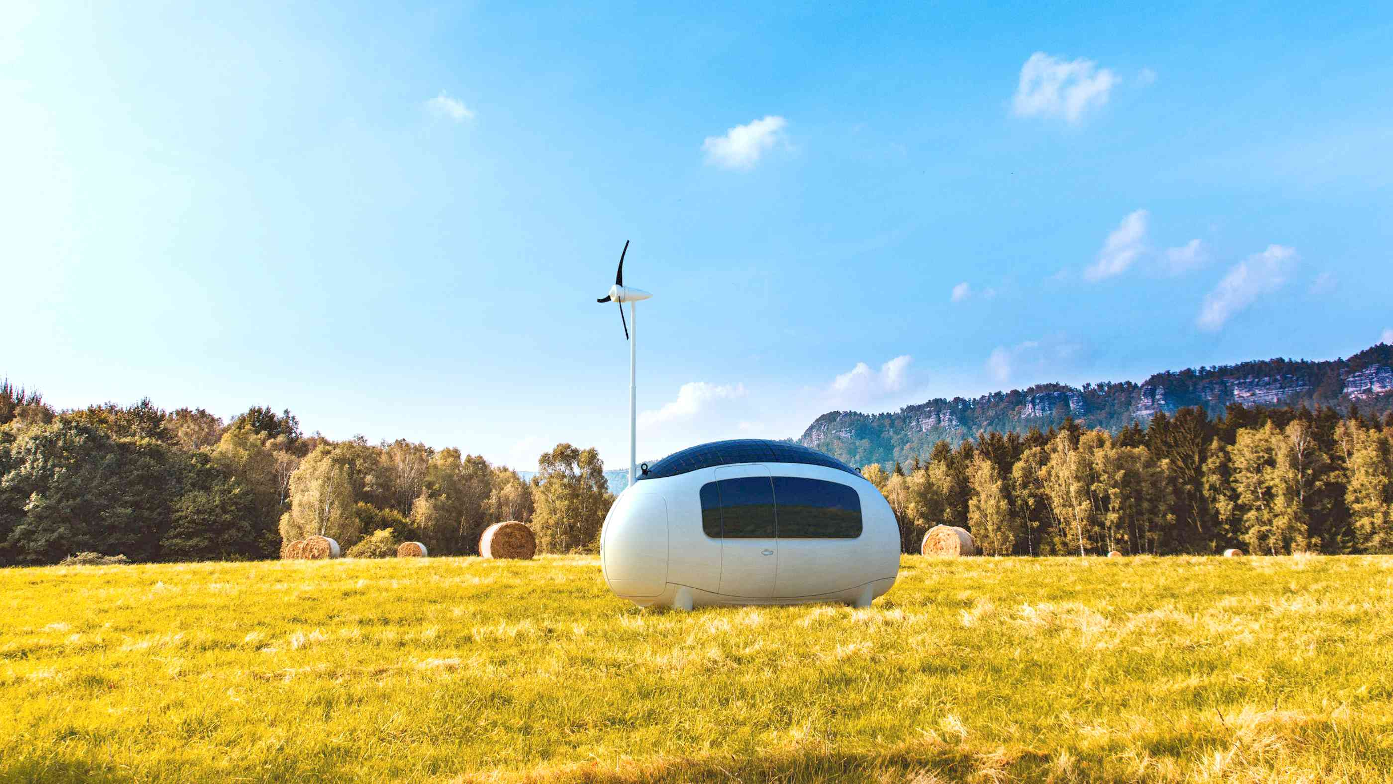 Autarkes Tiny House Ecocapsule
