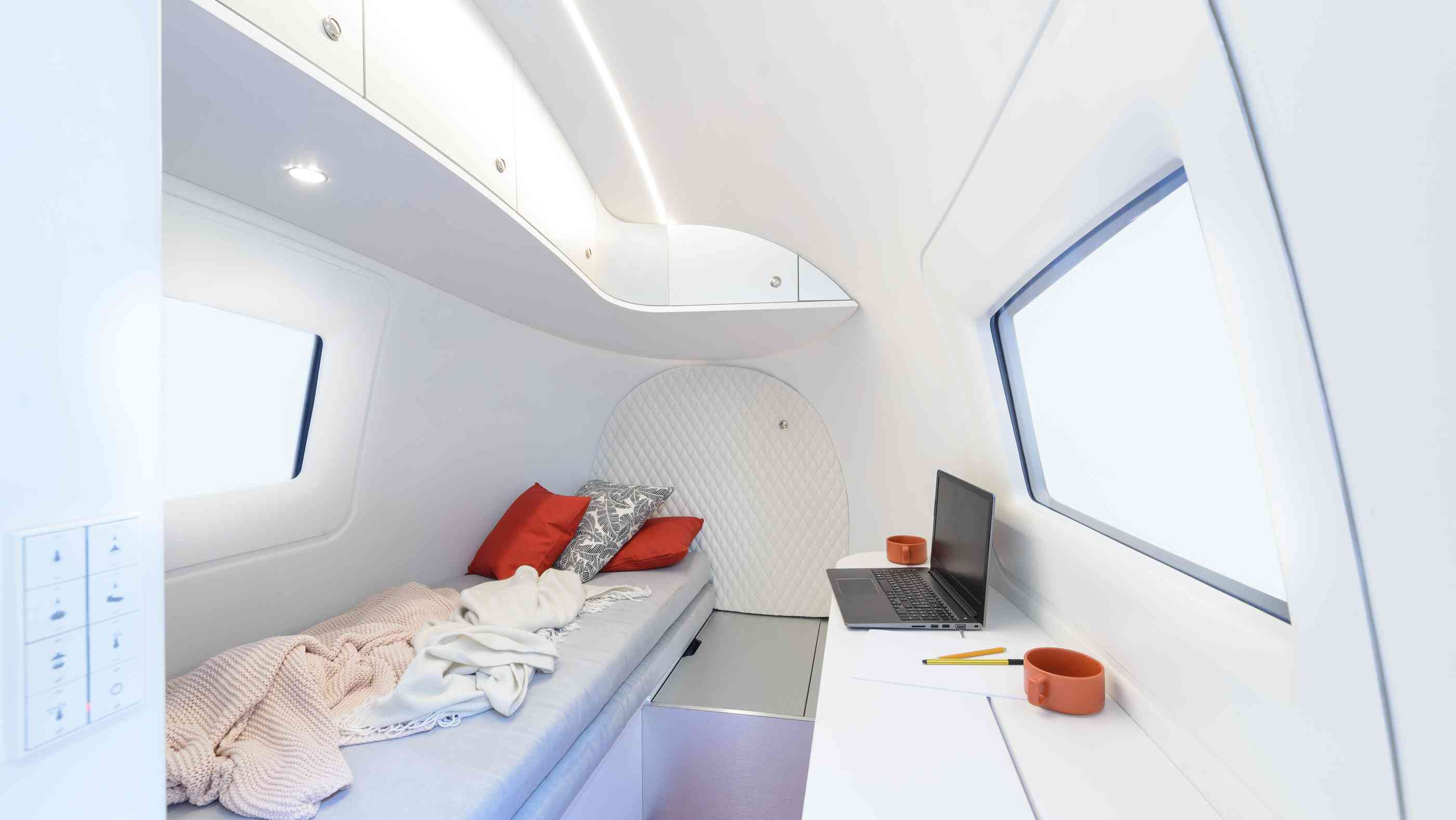 Innenansicht Ecocapsule Tiny House