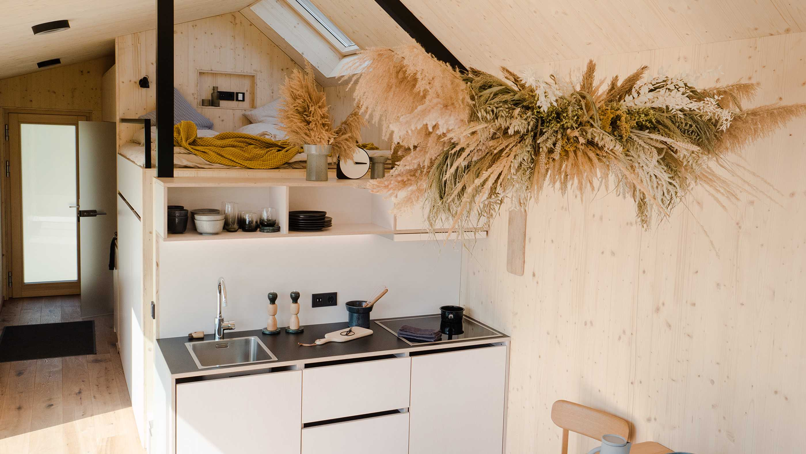 Innenansicht Tiny House Cabin One
