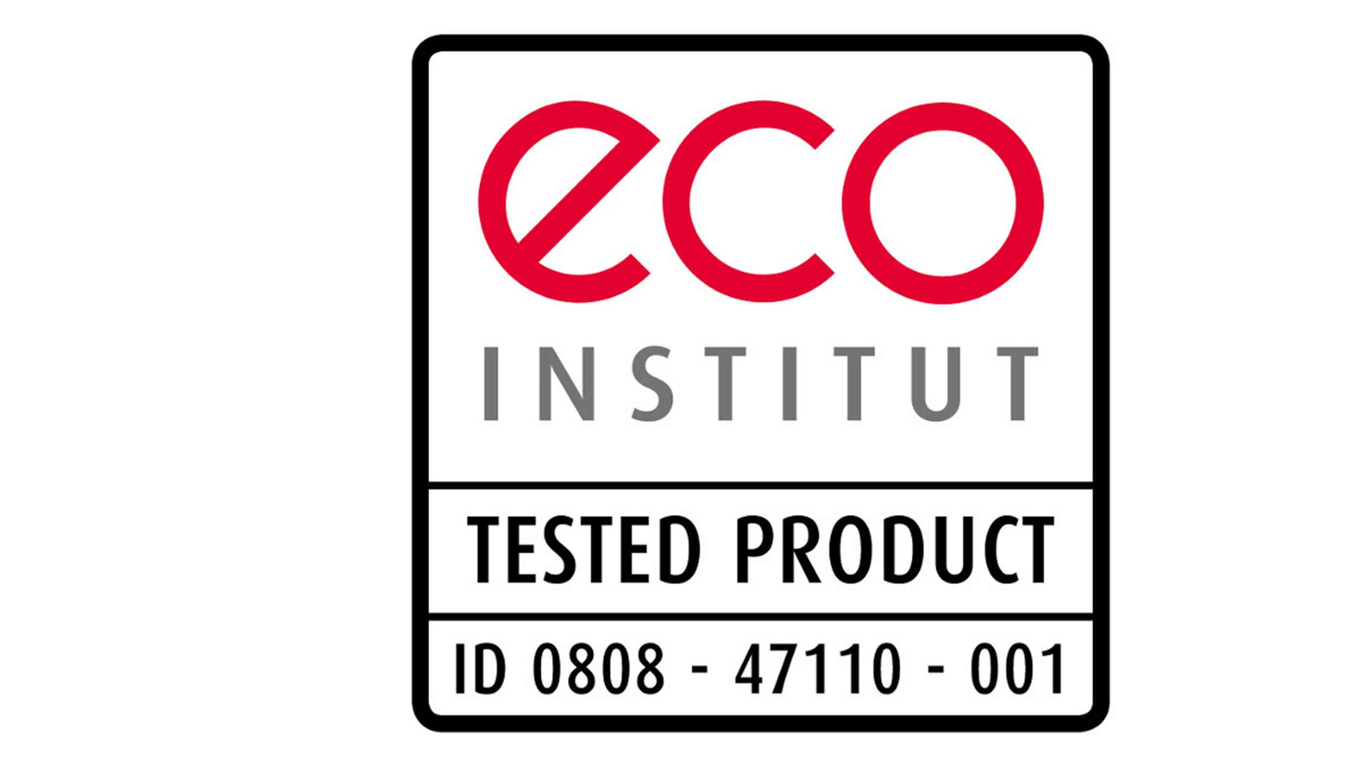 Das Logo vom Eco Institut/Tested Products