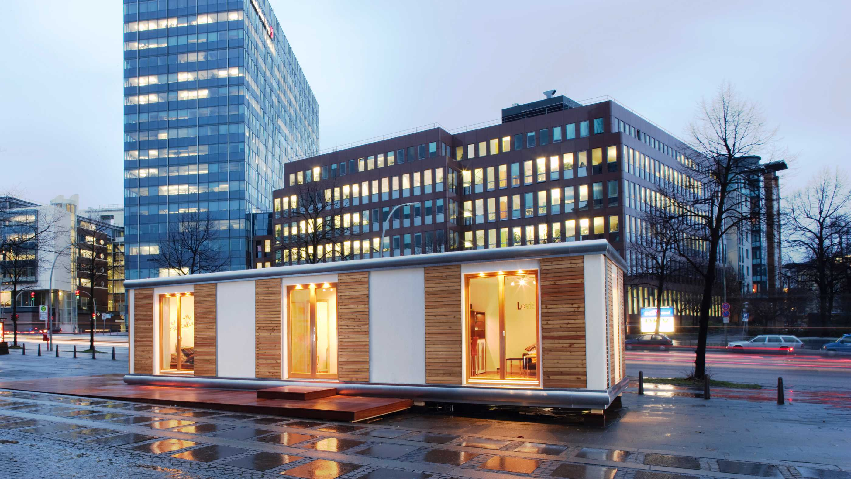 Tiny House in der Stadt