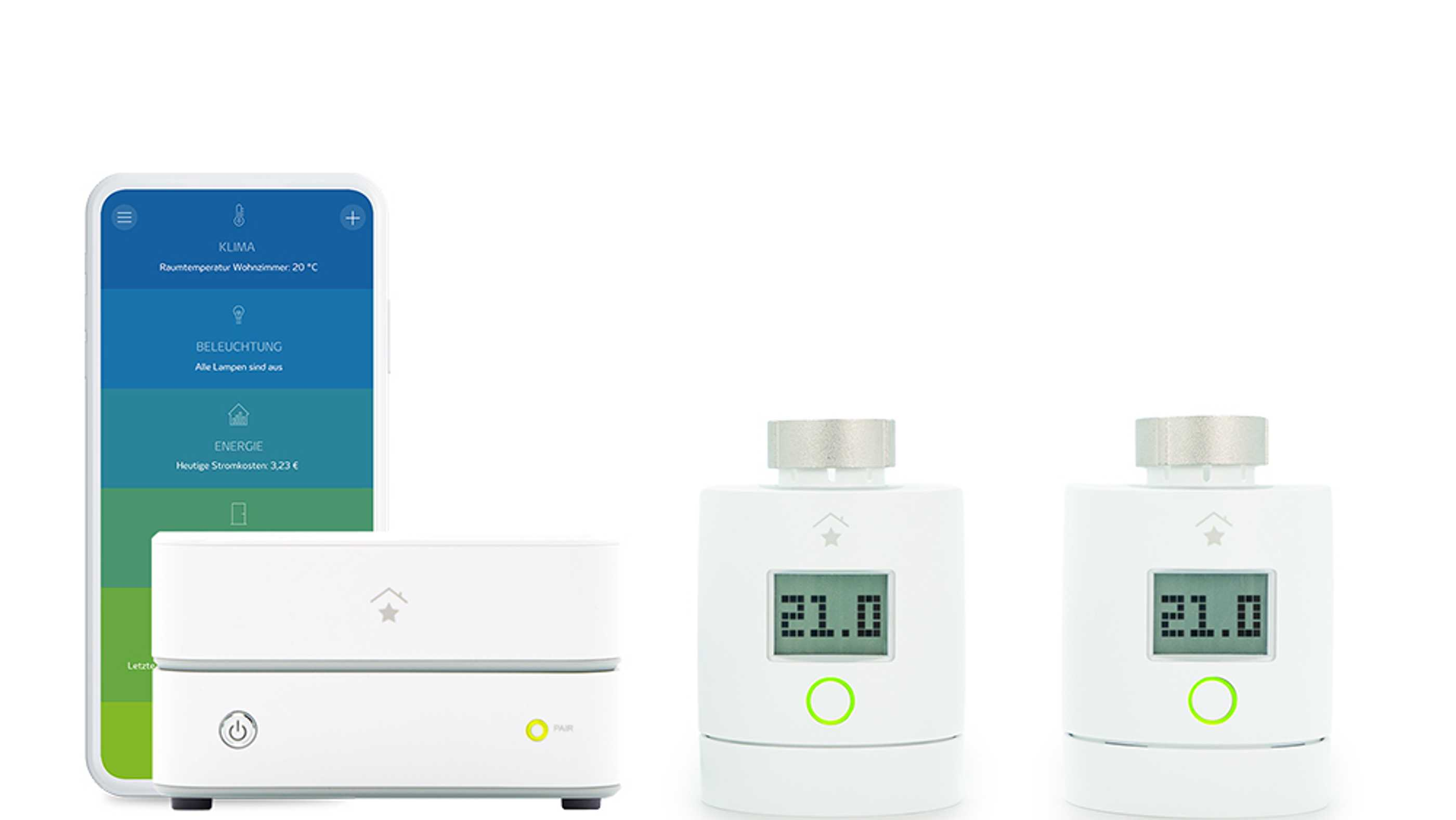 Innogy Smart-Home-Heizungspaket